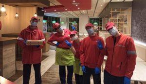 Telepizza hace gala de su compromiso social solidario durante la crisis sanitaria