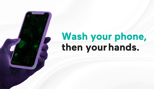wash your phone