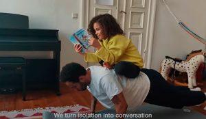 Zalando anima a seguir haciendo deporte en casa con su primera campaña producida a distancia