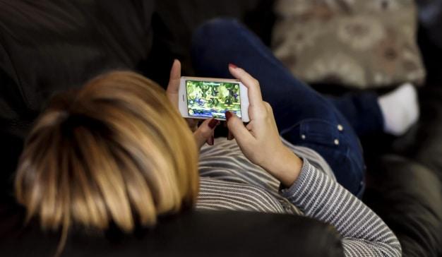 Apps entretenimiento móvil