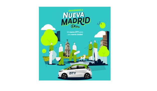Brandista desarrolla la campaña de relanzamiento de Zity en Madrid