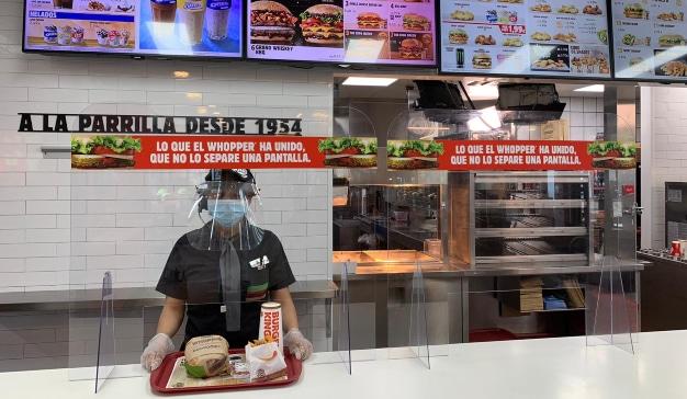 Burger King España - medidas seguridad desescalada