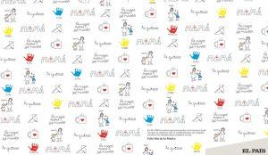 El País celebró el Día de la Madre imprimiendo páginas de regalo para sus lectores y familias