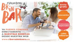 Ribera del Duero lanza #VolveremosaBrinBAR, una campaña para disfrutar del vino en casa
