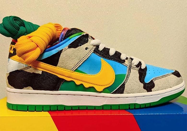 Hay una necesidad de construcción naval torre  Ben & Jerry's y Nike se alían para lanzar unas zapatillas muy golosas: las