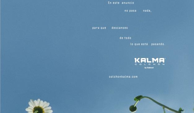 Kalma Colchón lanza la primera campaña publicitaria en la que no sucede nada