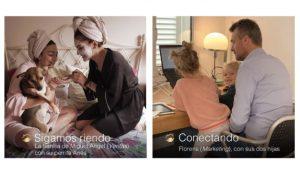 Dove muestra los #momentosreales de los empleados de Unilever España durante la cuarentena