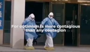 Coca-Cola combate el coronavirus con positivismo y un mensaje de agradecimiento