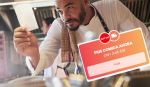 Just Eat apoya a los restaurantes locales a través de Instagram