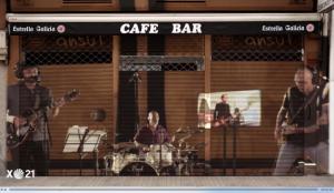 Estrella Galicia lanza un mensaje de ánimo a los bares junto a la banda de rock Los Enemigos