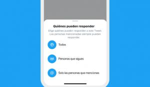 Twitter prueba nuevas configuraciones para que los usuarios elijan quién puede responder a sus tuits