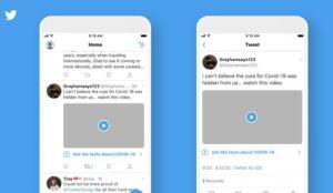 Twitter lanza nuevas etiquetas y mensajes de advertencia para frenar la información engañosa