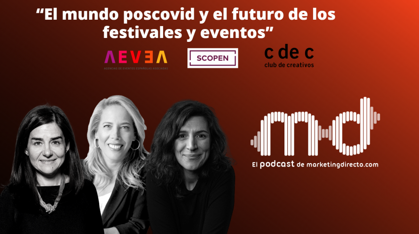 PODCAST EN DIRECTO: El mundo poscovid y el futuro de los festivales y eventos