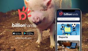 BillionHands se presenta al mercado con la colaboración de Darwin Social Noise