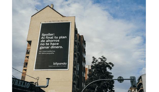 Grey firma la campaña de lanzamiento de Bitpanda, la plataforma de inversión digital líder