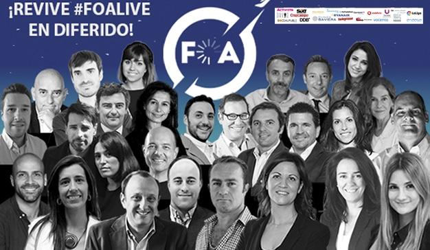 FOA triunfa con su primera edición online (#FOALIVE) con casi 5.000 espectadores en directo