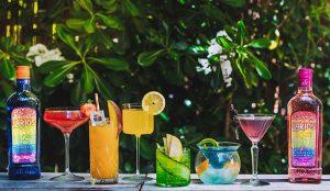 Larios presenta sus cócteles arcoíris para celebrar el Orgullo LGTBIQ+ con 'Espíritu Mediterráneo'