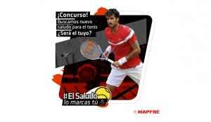 MAPFRE y SrBurns lanzan #ElSaludoLoMarcasTú para celebrar la vuelta de la Liga MAPFRE de Tenis