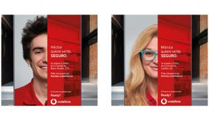 Los empleados de Vodafone, protagonistas de la campaña de reapertura de sus tiendas
