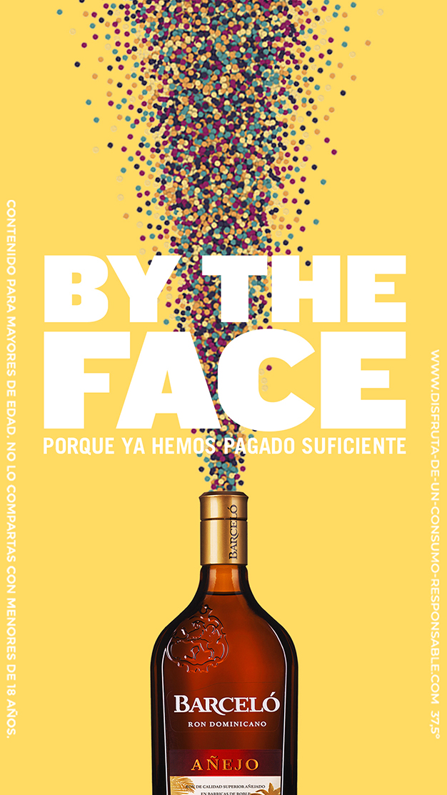 Barceló by the face