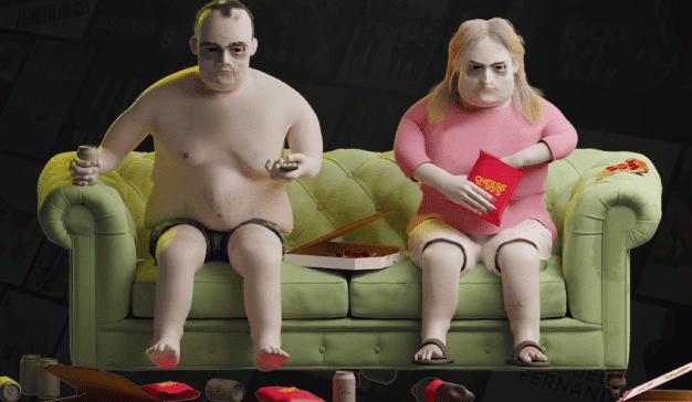 Estos personajes en 3D muestran las impactantes consecuencias del