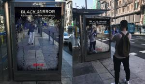La nueva y sorprendente publicidad de ¿Netflix? sobre Black Mirror