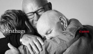 Canon captura los primeros abrazos entre amigos y familiares tras el confinamiento para su última campaña