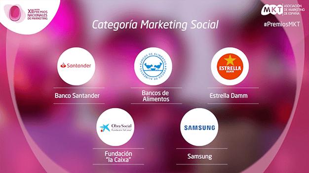 Social Premios nacionales de marketing