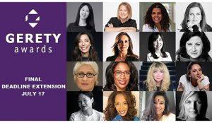Gerety Awards: se aproxima la deadline final. La necesidad de igualdad más fuerte que nunca