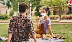 La nueva (y segura) normalidad llega a la publicidad de KFC