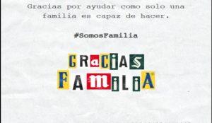 La iniciativa #SOMOSFAMILIA lanza un mensaje de agradecimiento a todo el sector de la alimentación
