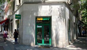 Subway abre su primer restaurante de la nueva era en pleno corazón de Madrid
