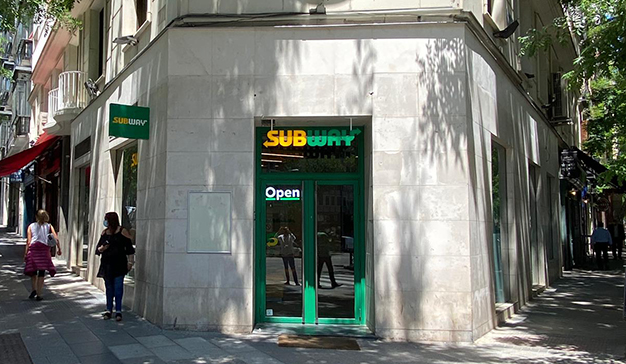 Restaurante Subway Génova