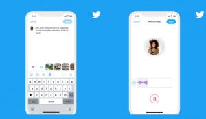 Twitter lanza la función de tuits de voz en dispositivos iOS
