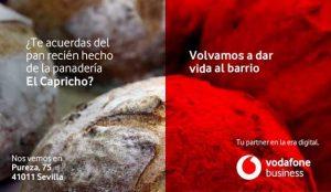 Vodafone cede sus soportes de publicidad exterior a los negocios de barrio