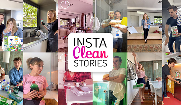 P&G muestra el lado divertido de la limpieza con #InstaCleanStories