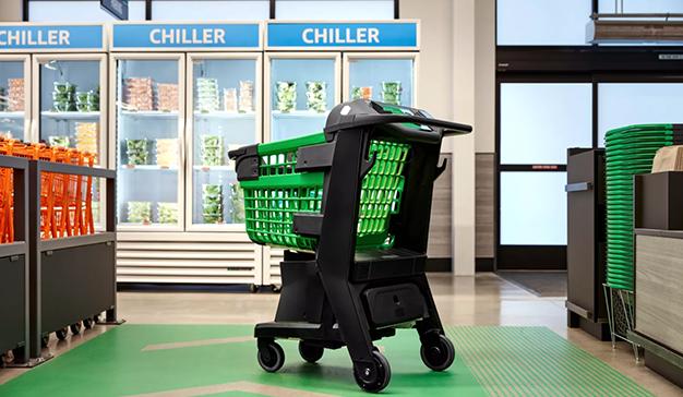 Amazon lanza un carrito inteligente que permite pagar la compra sin pasar por caja