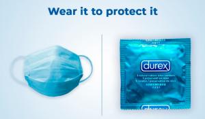 Mascarillas y condones: la publicidad de Durex en la