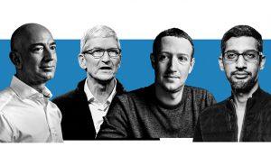 Google, Facebook, Amazon y Apple justifican sus descomunales emporios ante el Congreso