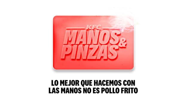 KFC manos y pinzas
