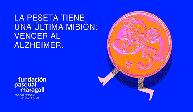 La Fundación Pasqual Maragall lanza una campaña para recaudar pesetas y convertirlas en investigación para el Alzheimer