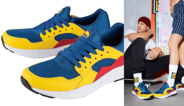 Las llamativas zapatillas de 12 euros de Lidl que ahora se venden en eBay por más 2.000 euros