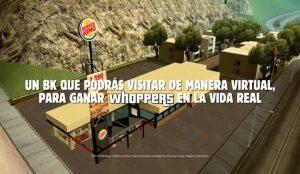 Burger King invita a todos a regresar virtualmente a la casa del Whopper durante la cuarentena