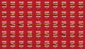 KFC reta a sus consumidores a encontrar dos piezas de pollo iguales en su última campaña