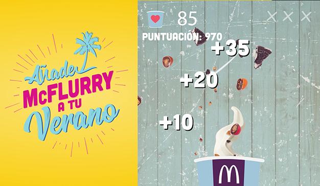 McDonald's introduce la gamificación en su estrategia digital ofreciendo videojuegos exclusivos en su app