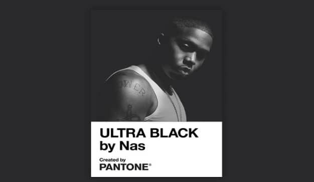Nas Ultra Black PANTONE