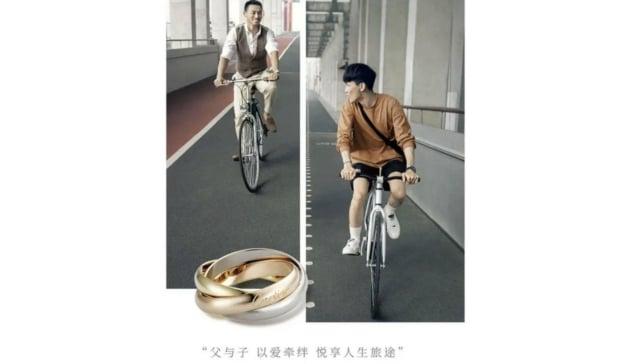 anuncio cartier china