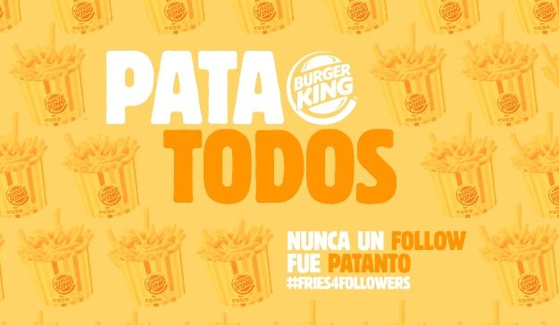 patatodos campaña burger king