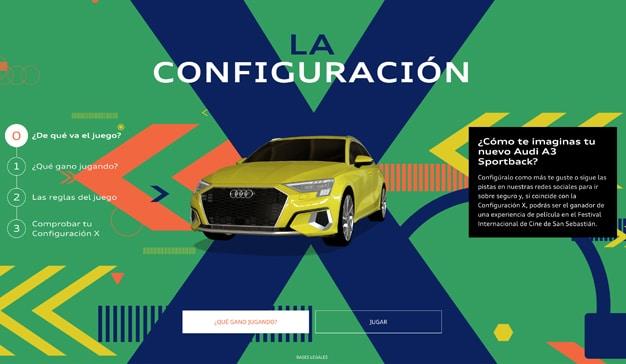 Audi promocionará su nuevo coche a través de un juego dentro de su web