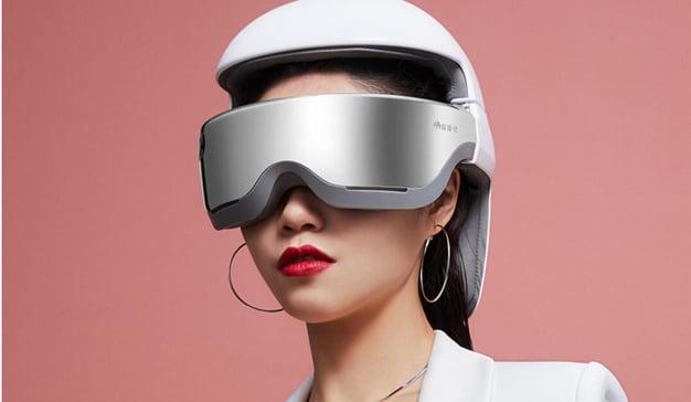 El nuevo casco de Xiaomi para dar masajes craneales